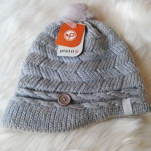 Pistil Emerson Knit Brim beanie Blue Haze New Hat